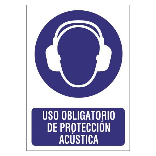SEÑAL 210X297 PVC PROTECION ACUSTICA