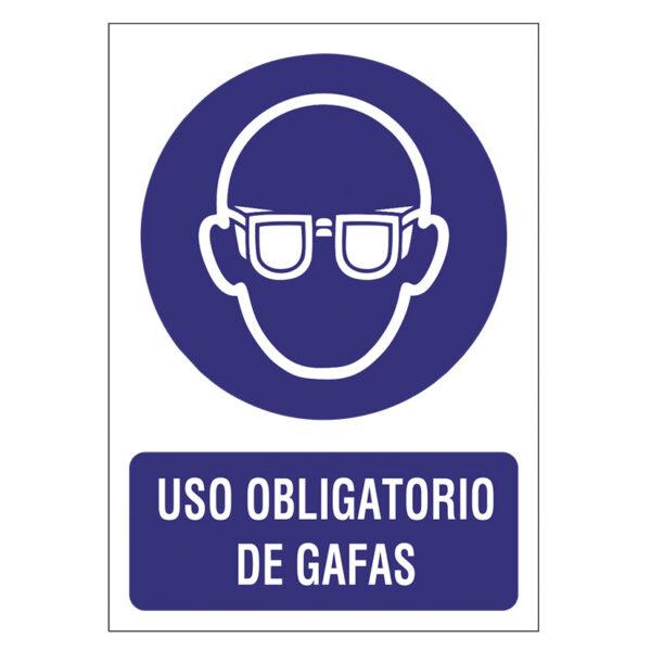 SEÑAL 210X297 PVC USAR GAFAS