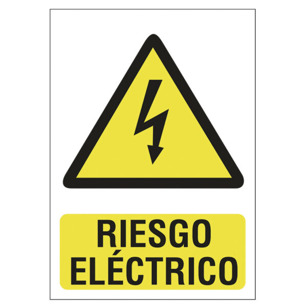 SEÑAL 210X297 PVC RIESGO ELECTRICO