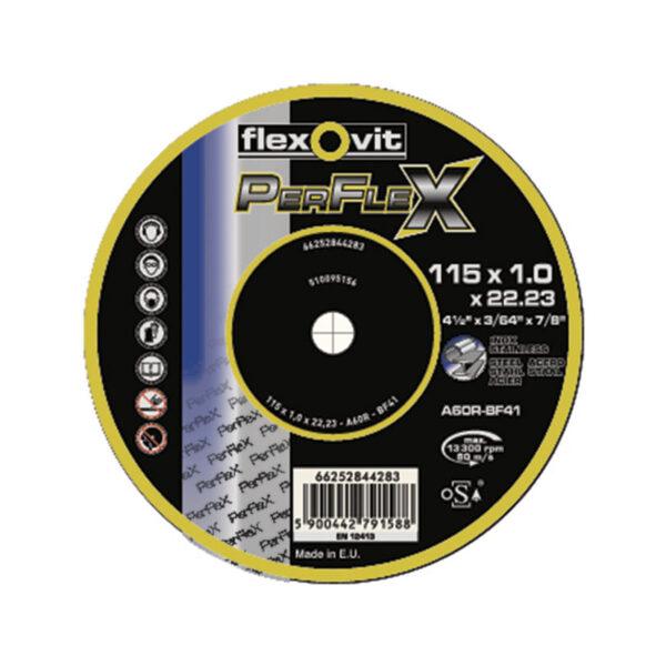 DISCO CORTE FINO (10) PERFLEX 125X1.0MM.