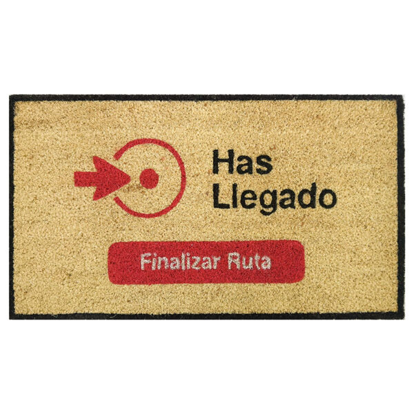 FELPUDO COCO BLANCO FIN RUTA 40X70 CM.