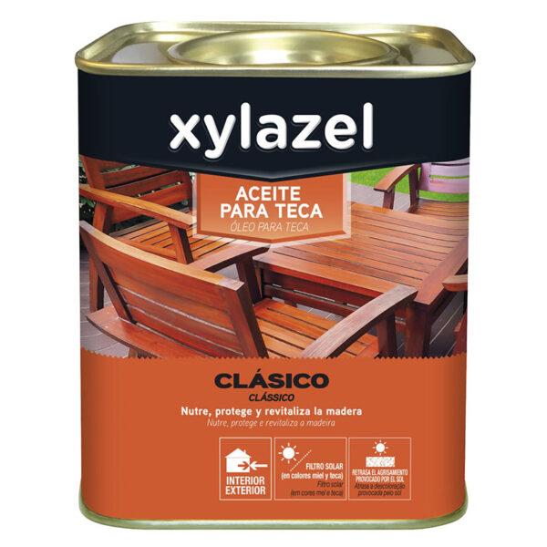 XYLAZEL ACEITE TECA INCOLORO 750 ML